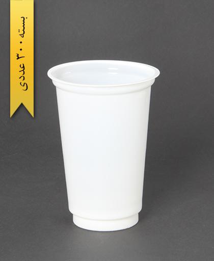لیوان سفید-500cc-pp-احدی