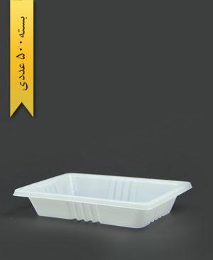 ظرف غذا تک پرس - 3cm - 16gr - ps - پیشگامان