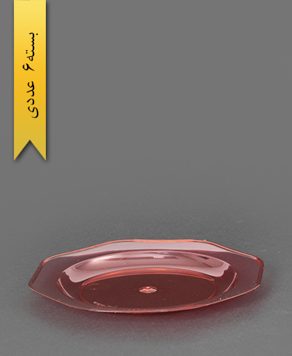 پیش دستی کریستال قرمز - طب پلاستیک