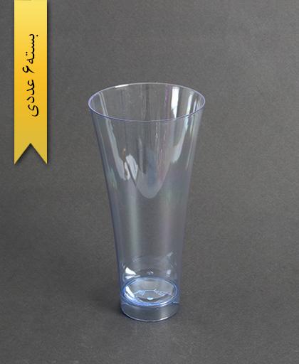 لیوان نایس رنگی450cc- آبی-کوشا