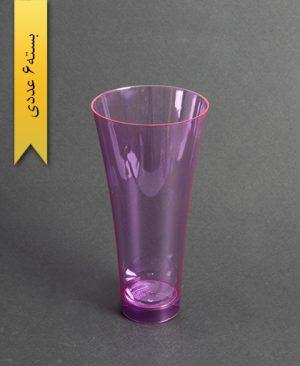 لیوان نایس رنگی450cc- بنفش-کوشا