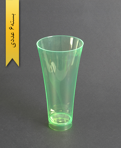 لیوان نایس رنگی450cc- سبز-کوشا