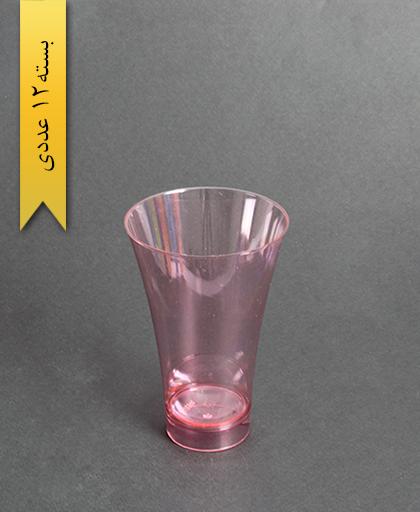 لیوان نایس رنگی280cc- قرمز-کوشا