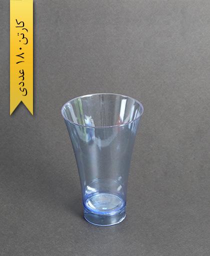 لیوان نایس رنگی280cc- آبی-کوشا