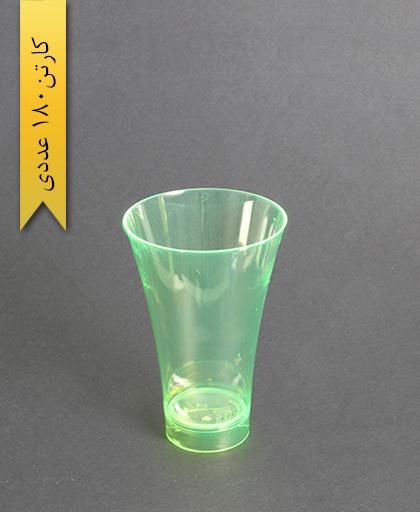 لیوان نایس رنگی280cc- سبز-کوشا