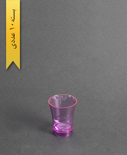 لیوان نایس رنگی50cc- بنفش-کوشا