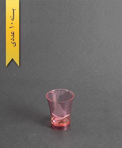 لیوان نایس رنگی50cc- قرمز-کوشا