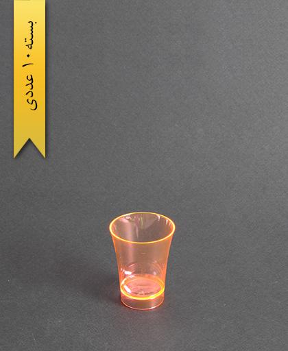 لیوان نایس رنگی50cc- نارنجی-کوشا
