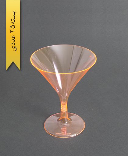 جام سپهر رنگی230cc-نارنجی-کوشا