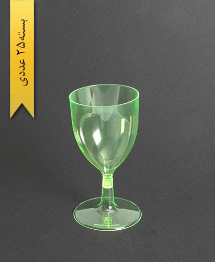 جام بهارک رنگی220cc-سبز-کوشا