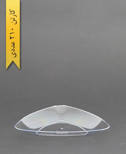 بشقاب کیک خوری شفاف لونا -کوشا