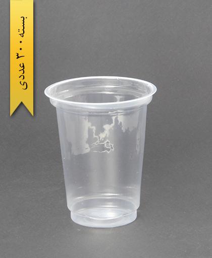 لیوان شفاف 500cc - pp - احدی