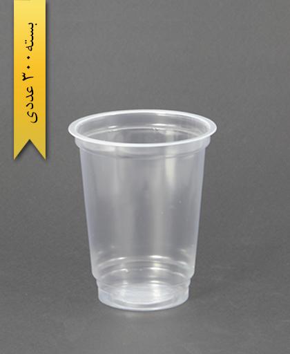 لیوان شفاف 400cc - pp - پلی کاپ