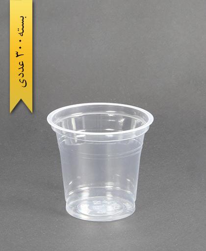 لیوان شفاف300cc-PP-جام پلاستیک