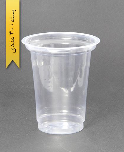 لیوان شفاف 400cc - pp - عسل پلاست