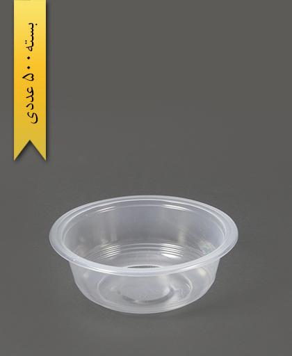 کاسه شفاف 350cc pp - کاسه یکبار مصرف احدی