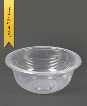 کاسه شفاف 1000cc pp - احدی