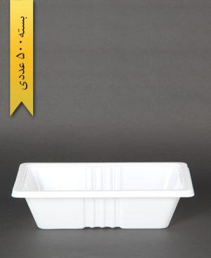 ظرف غذا تک پرس - 5cm - 20gr - ps - پیشگامان