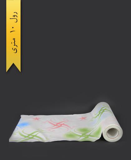 سفره کاغذی عرض 120 طرح 2 - کوشا