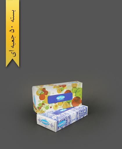 دستمال کاغذی 100برگ - تالار