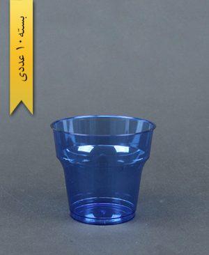 لیوان آرین 180cc آبی - طب پلاستیک