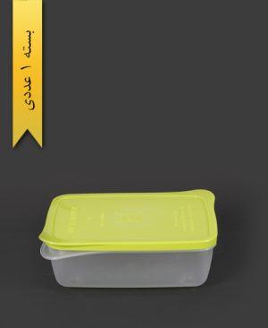 ظرف مایکروویو مستطیل کوچک سبز - کوشا