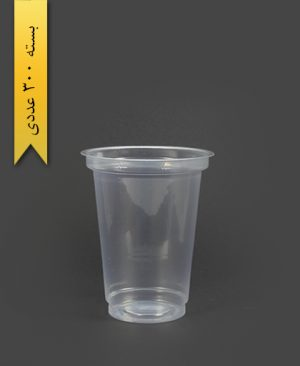 لیوان شفاف 350cc - pp - احدی