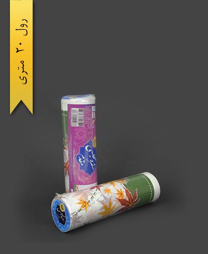 سفره پلاستیکی 20 متری عرض 100 طرح 2 - اصفهان مقدم