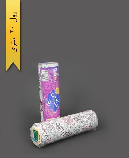 سفره پلاستیکی 20 متری عرض 100 طرح 3 - اصفهان مقدم
