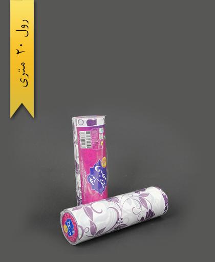 سفره پلاستیکی 20 متری عرض 100 طرح 9 - اصفهان مقدم
