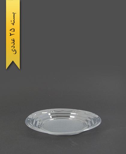 پیش دستی pet شفاف - ظروف یکبار مصرف آذران ورق