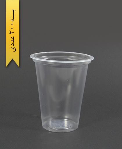 لیوان 350cc شفاف - تک ظرف