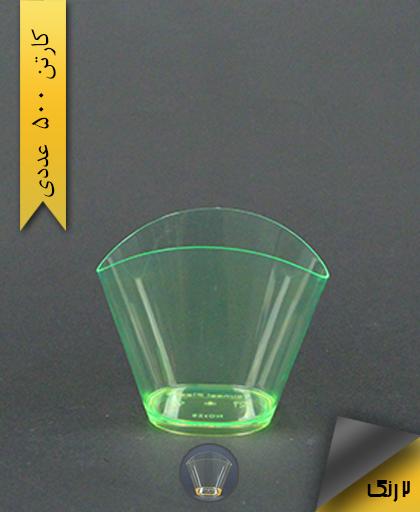 لیوان مدرن رنگی - یونسی پلاست