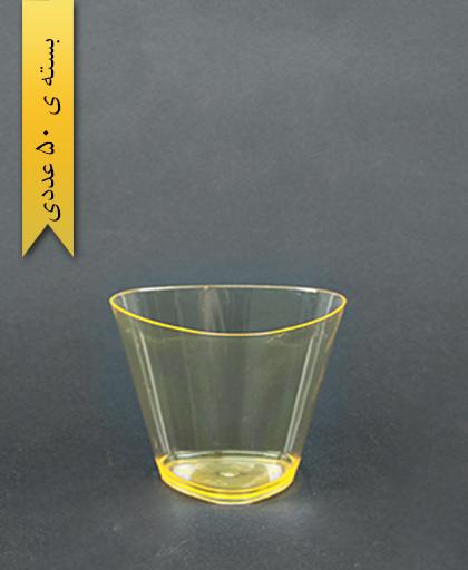 لیوان سه گوش نارنجی - یونسی پلاست