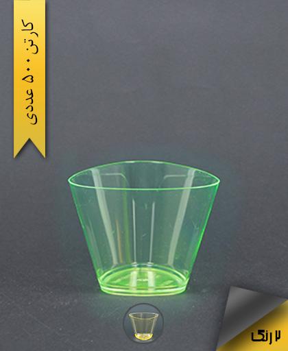 لیوان سه گوش رنگی - یونسی پلاست