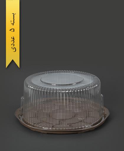 ظرف کیک متوسط - صنایع پلاستیک خوزستان
