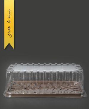 ظرف کیک رولتی - صنایع پلاستیک خوزستان