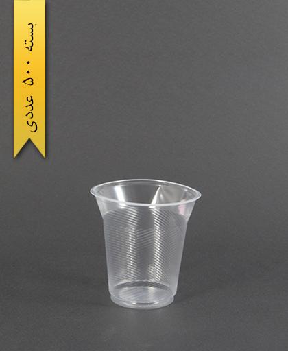 لیوان 180cc شفاف - تک ظرف