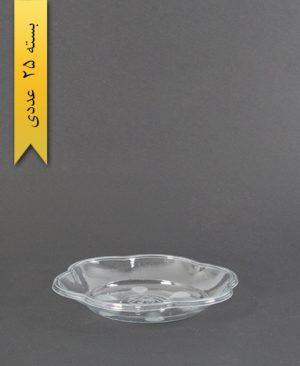پیش دستی گلبرگ شفاف 500 - ام پی