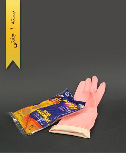 دستکش L ساق بلند رزمریم - حریر ایران