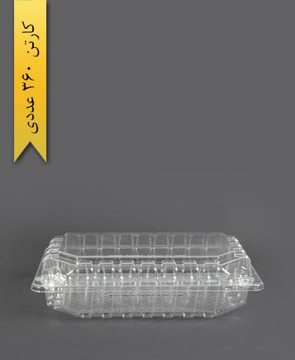 لانچ باکس کوچک کوتاه - پارس پلاستیک