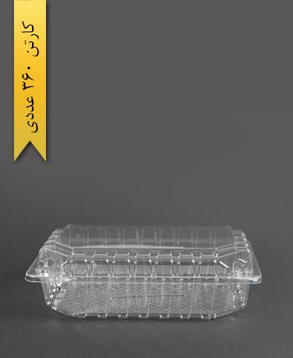 لانچ باکس کوچک بلند - پارس پلاستیک