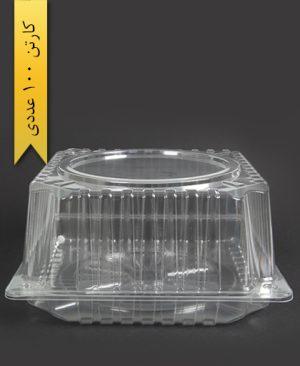 ظرف کیک بلند - پارس پلاستیک