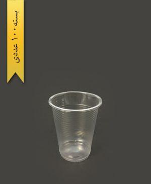 لیوان 200cc شفاف - تک ظرف
