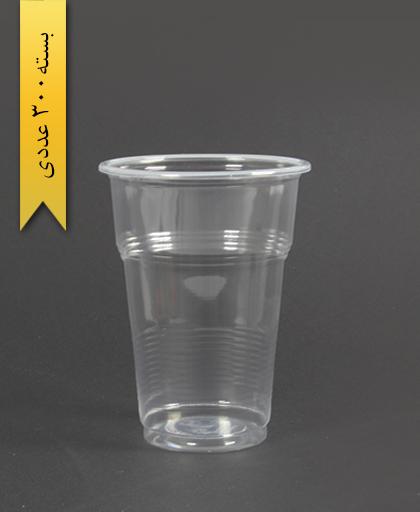 لیوان 450cc شفاف - تک ظرف