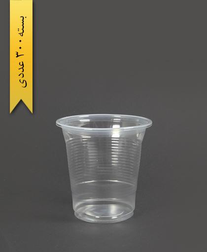 لیوان 300cc شفاف - تک ظرف
