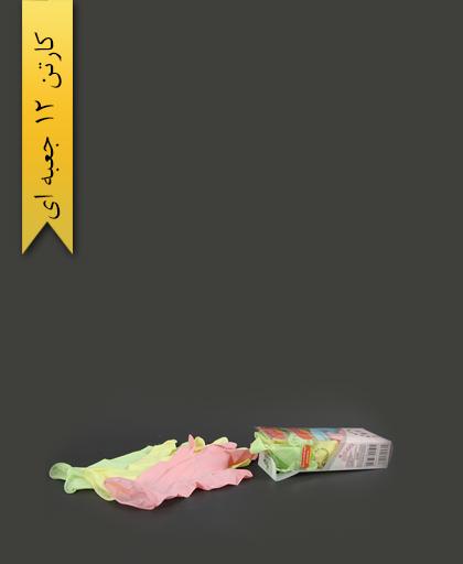 دستکش l رنگین کمان گل مریم - حریر ایران