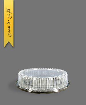 ظرف کیک کوتاه - ظروف یکبار مصرف آذران ورق