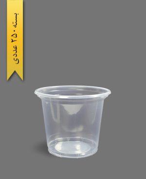 سطل ماستی 1700 شفاف - ظروف یکبار مصرف آیاتای