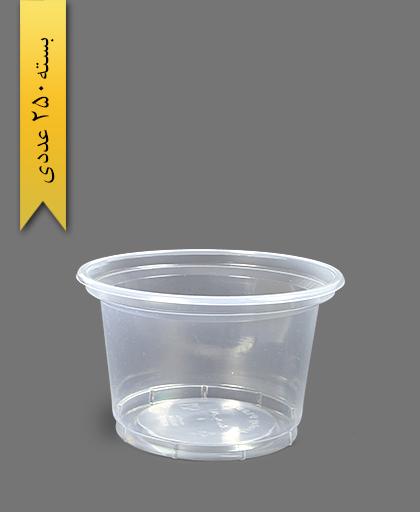 سطل ماستی 1300 شفاف - ظروف یکبار مصرف آیاتای